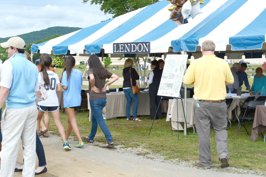 The LENDON Tent Welcoming More Visitors