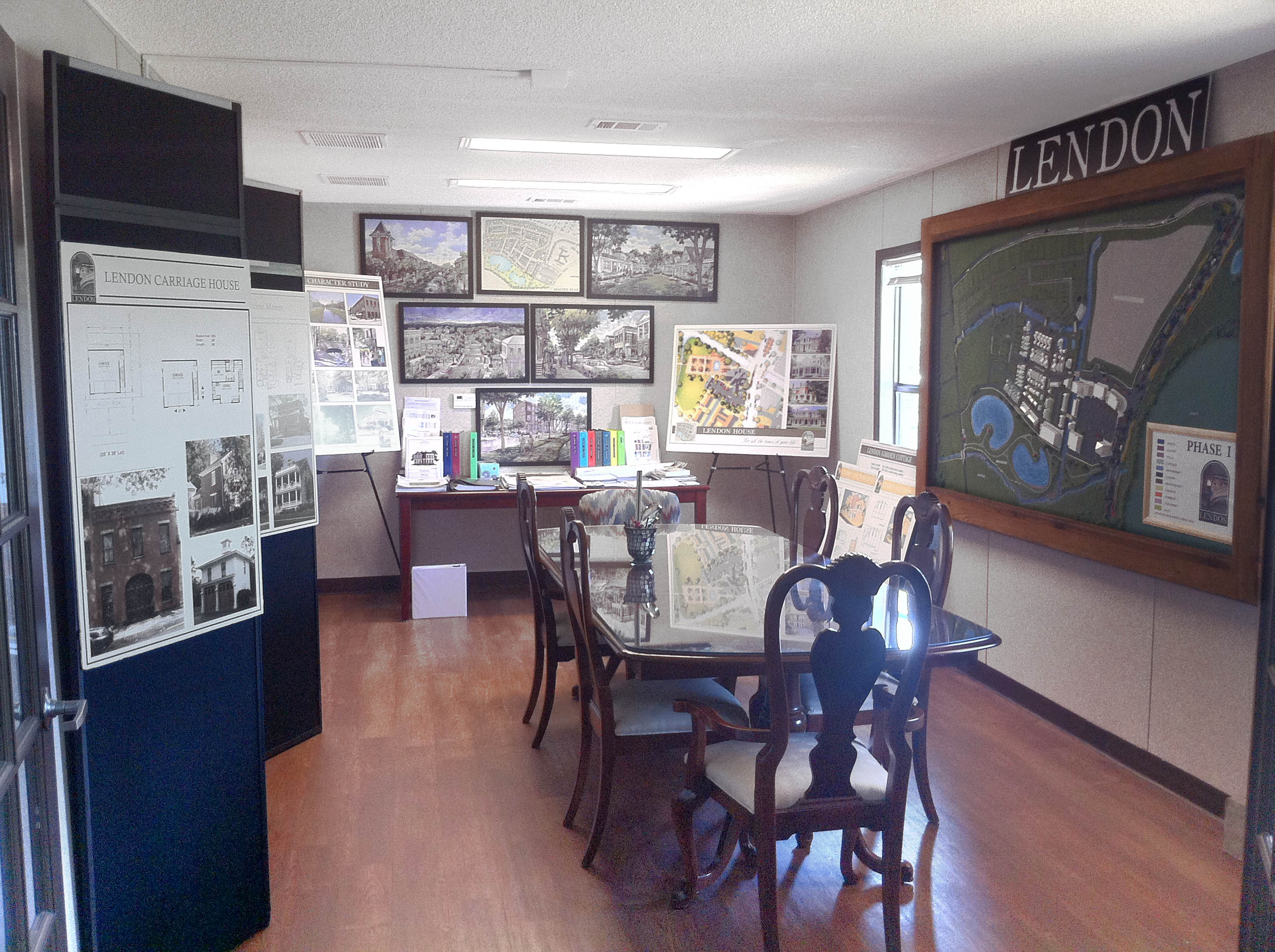 Come in and take a look at our plans for the LENDON Community