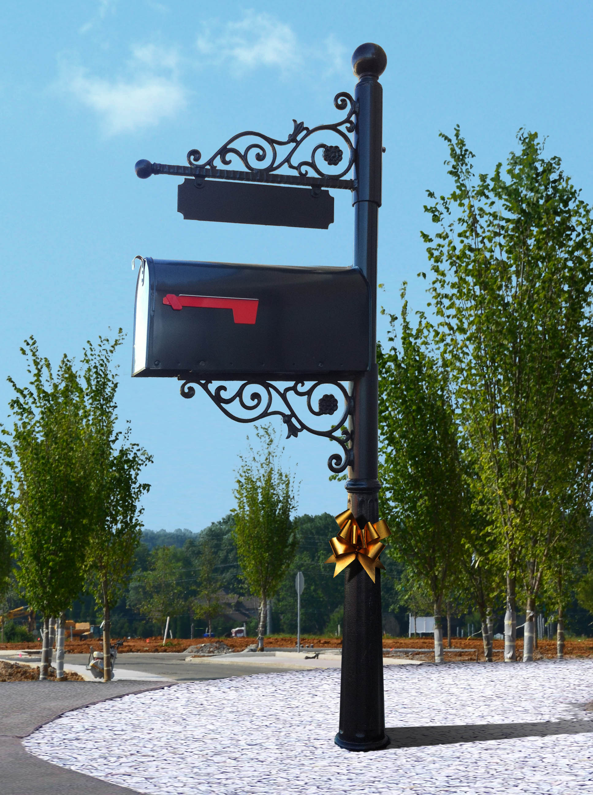 The New Mailboxes - a gift to LENDON homeowners