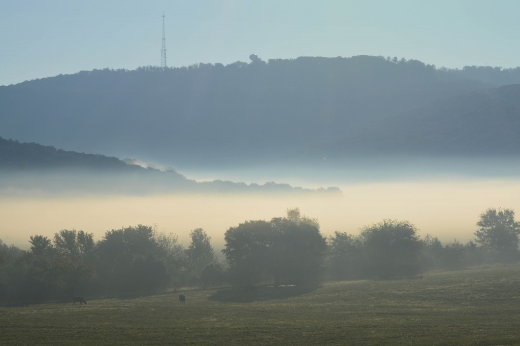 04. The Ledges Golf Community overlooks a Jones Valley filled with morning mist. _0789.b