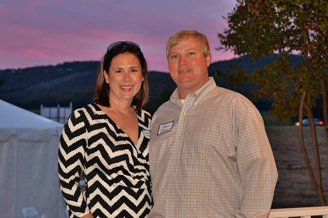 12. LENDON Office Manager & On-site Broker Jason Johnson and Wife, Sarah pose against a beautiful Jones Valley sky. _0190_n